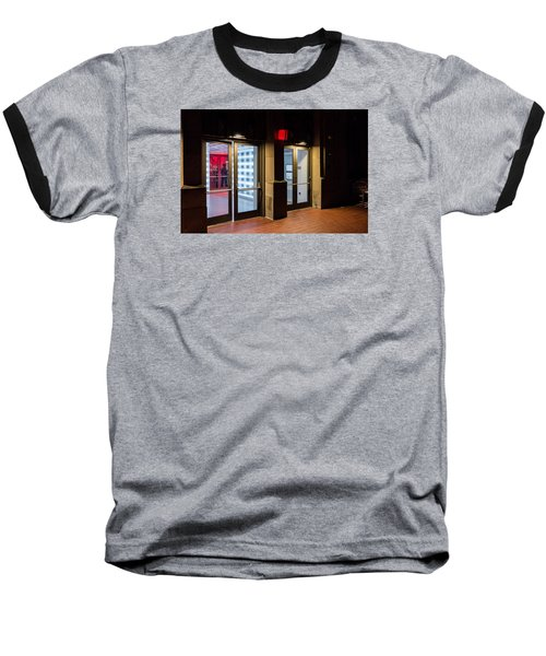Baseball T-Shirt featuring the photograph Guarding The Door by M G Whittingham