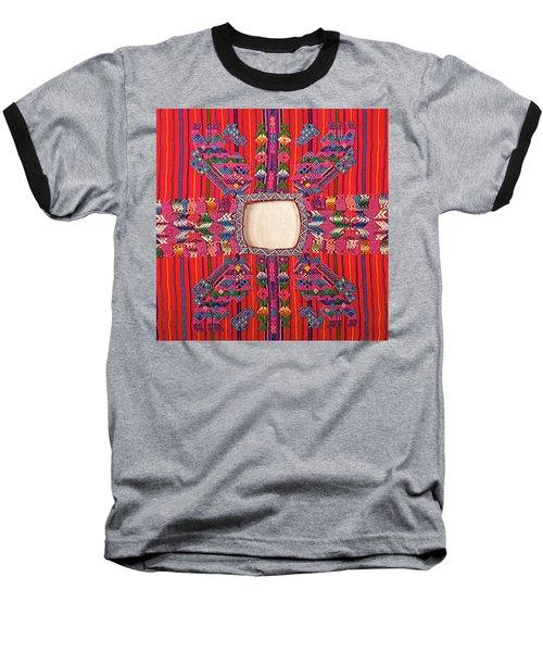 Guatemalan Arts And Crafts Baseball T-Shirt