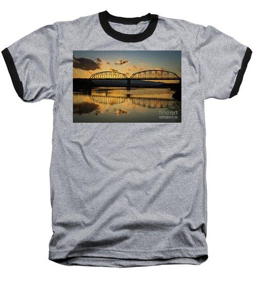 Guffey Bridge At Sunset Idaho Journey Landscape Photography By Kaylyn Franks Baseball T-Shirt