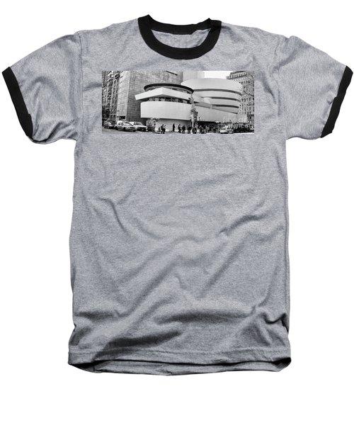 Guggenheim Museum Nyc Bw Baseball T-Shirt