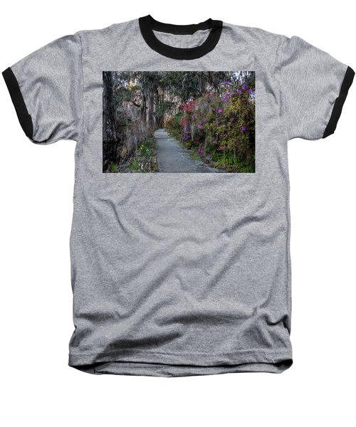 Guide Our Feet Into The Path Of Peace. Luke 1.79  Baseball T-Shirt