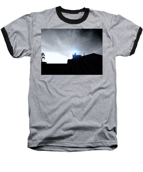 Guiding Light-alcatraz Baseball T-Shirt by Douglas Barnard