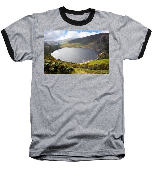 Guinness Lake In Wicklow Mountains  Ireland Baseball T-Shirt by Semmick Photo