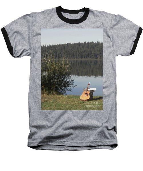 Guitar Lake Baseball T-Shirt