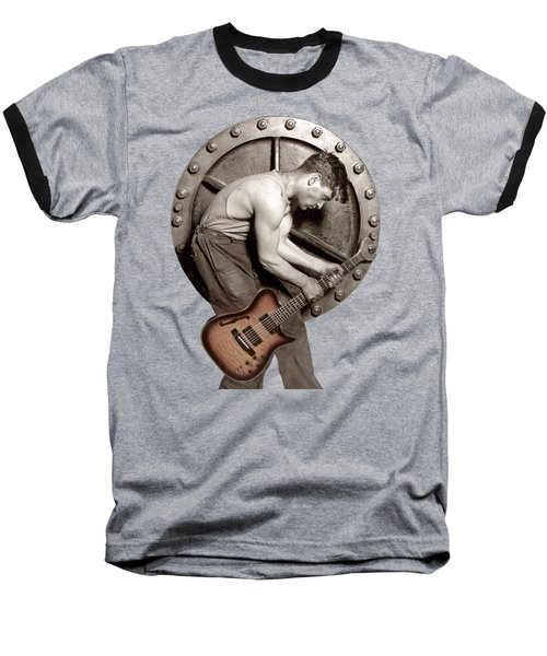 Guitar Mechanic T Shirt Baseball T-Shirt