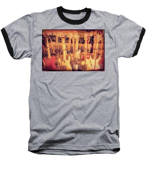 Guitar Reflections Baseball T-Shirt
