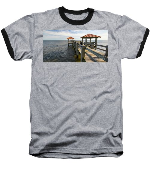 Gulf Coast Pier Baseball T-Shirt