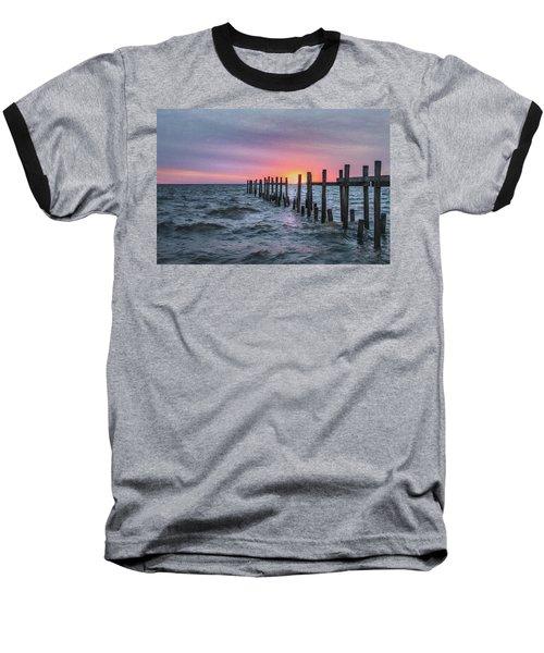 Baseball T-Shirt featuring the photograph Gulf Coast Sunrise by James Woody