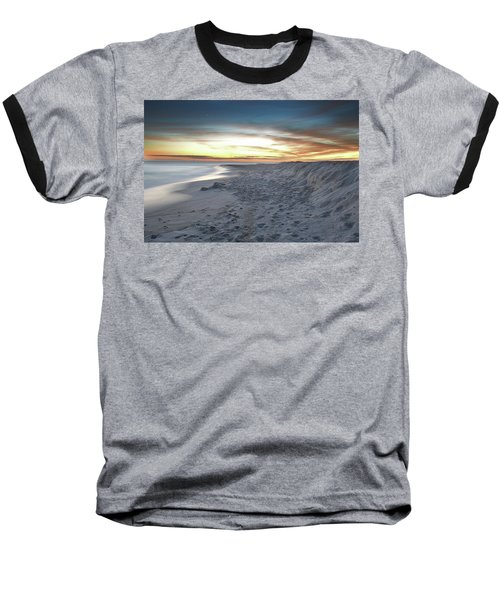 Gulf Island National Seashore Baseball T-Shirt by Renee Hardison