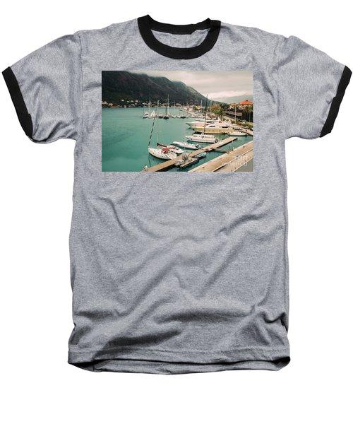 Gulf Of Kotor Baseball T-Shirt