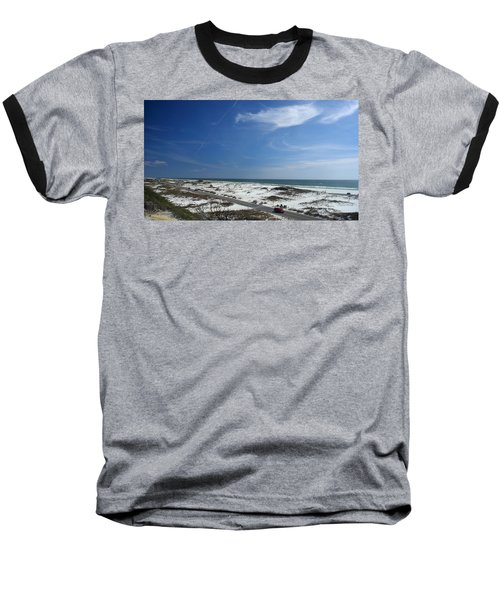 Gulf Of Mexico At Pensacola Beach Baseball T-Shirt