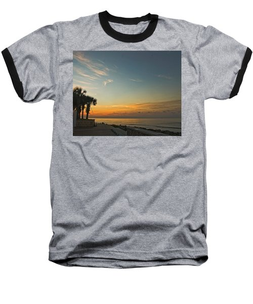 Gulf Of Mexico Sunrise Baseball T-Shirt