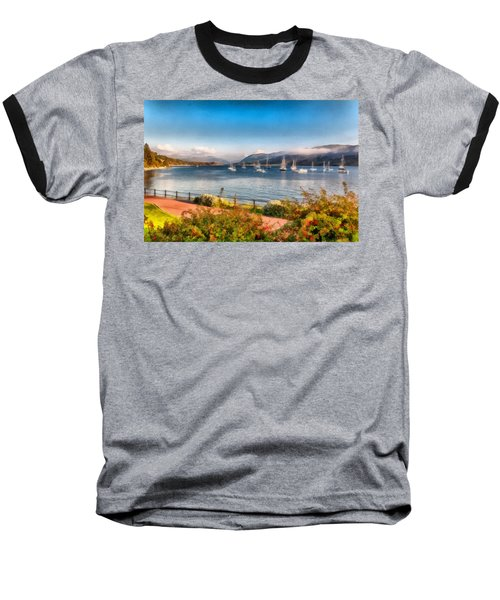 Baseball T-Shirt featuring the photograph Gulf Of  Ullapool      by Sergey Simanovsky