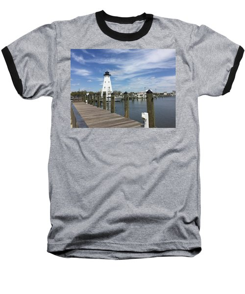 Baseball T-Shirt featuring the photograph Gulf Port by Andrea Love