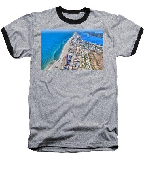 Gulf Shores Beach Looking W Baseball T-Shirt