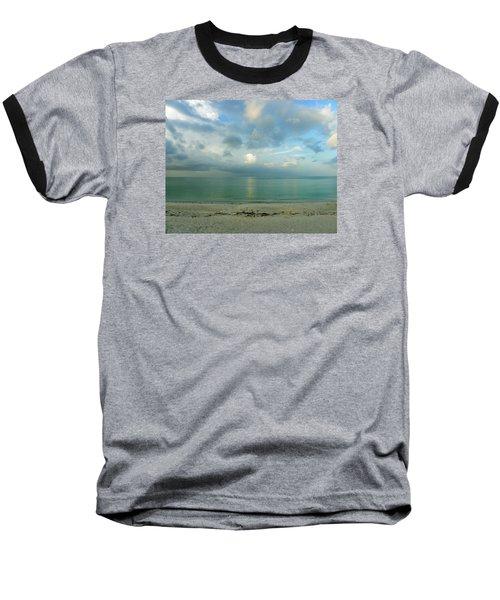 Gulf Storm Baseball T-Shirt by Judy Wanamaker