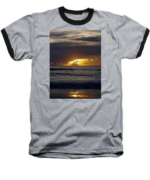 Gulf Sunset Baseball T-Shirt