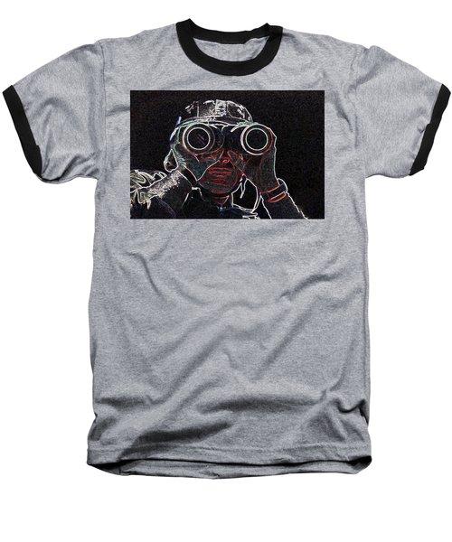 Gulf War Baseball T-Shirt by Charles Shoup