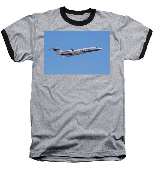 Gulfstream Gv Private Jet Baseball T-Shirt