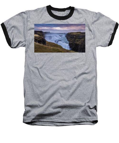 Gullfoss, Sunrise Baseball T-Shirt