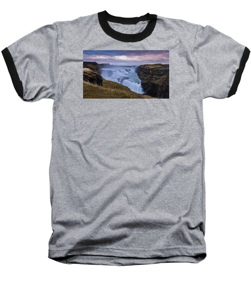 Gullfoss, Sunrise Baseball T-Shirt