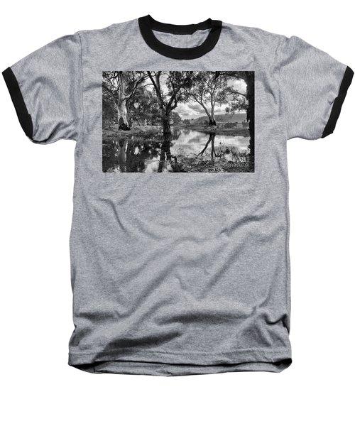 Baseball T-Shirt featuring the photograph Gum Creek by Douglas Barnard