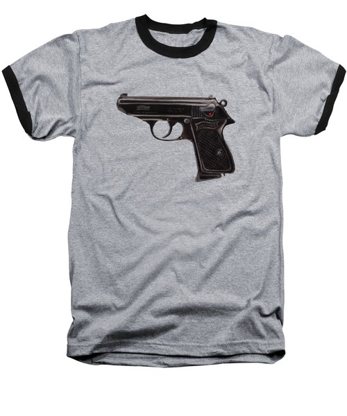 Gun - Pistol - Walther Ppk Baseball T-Shirt