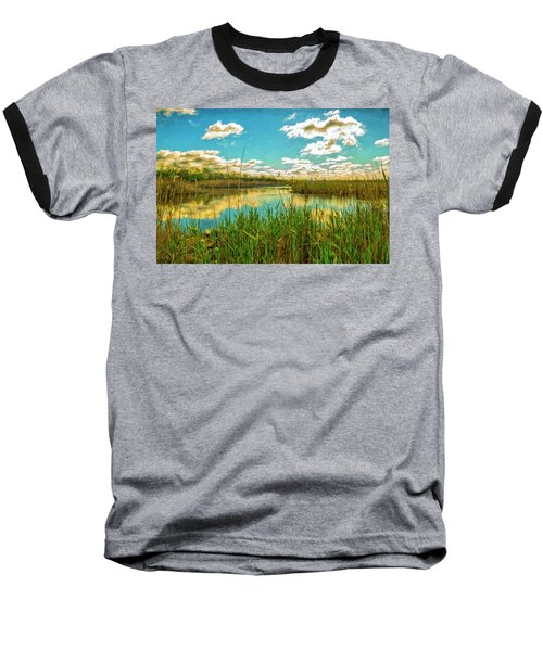 Gunnel Oval By Paint Baseball T-Shirt