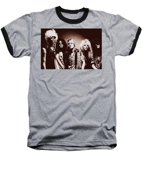 Guns N' Roses - Band Portrait 02 Baseball T-Shirt
