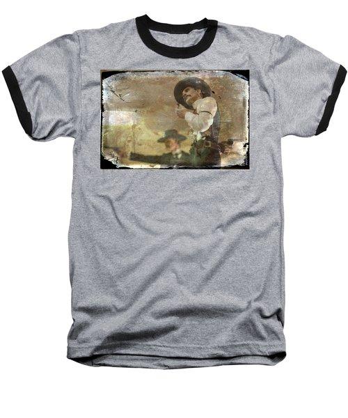 Gunslinger II Doc Holliday Baseball T-Shirt