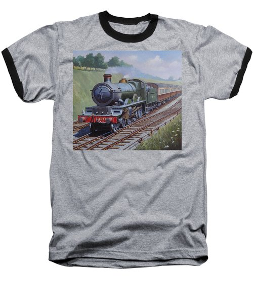 Gwr Star Class Baseball T-Shirt by Mike  Jeffries