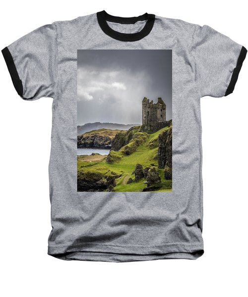 Gylen Castle On Kerrera In Scotland Baseball T-Shirt