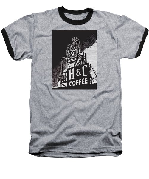 H And C Coffee Sign Baseball T-Shirt