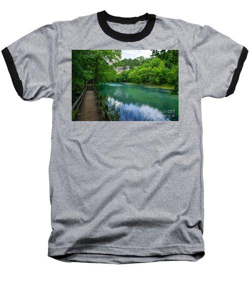 Ha Ha Tonka Spring Baseball T-Shirt