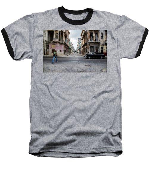 Habana Vieja Horizon Baseball T-Shirt