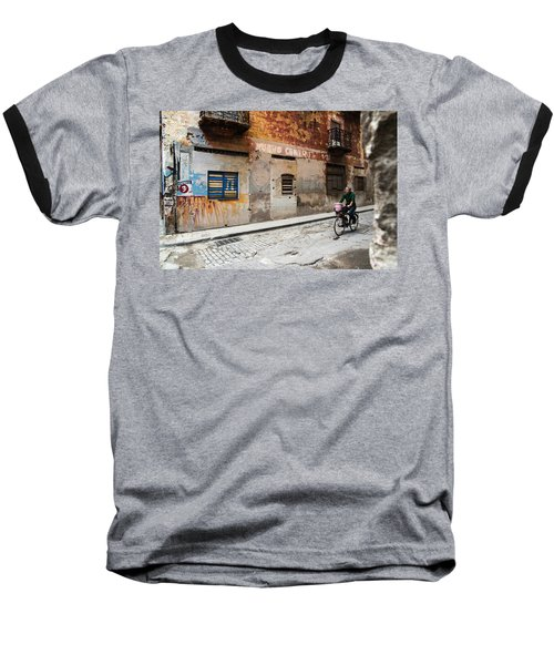 Habana Vieja Ride Baseball T-Shirt