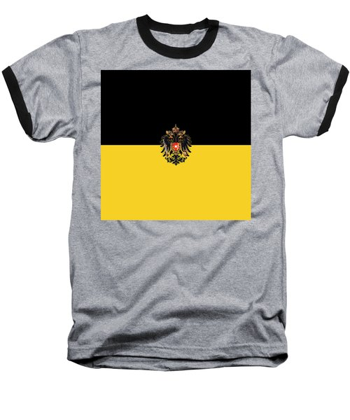 Habsburg Flag With Imperial Coat Of Arms 3 Baseball T-Shirt