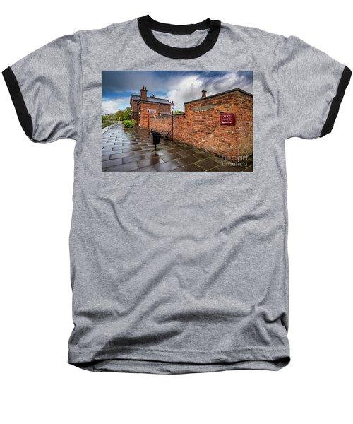 Hadlow Victorian Railway Station Baseball T-Shirt