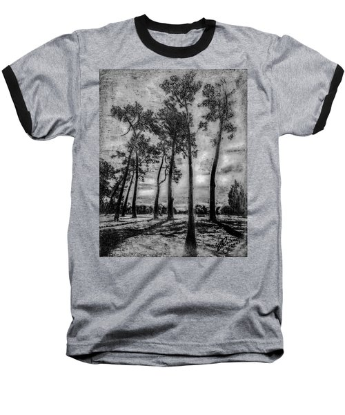 Hagley Park Treescape Baseball T-Shirt