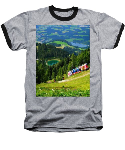 Hahnenkamm - Kitzbuehel Baseball T-Shirt