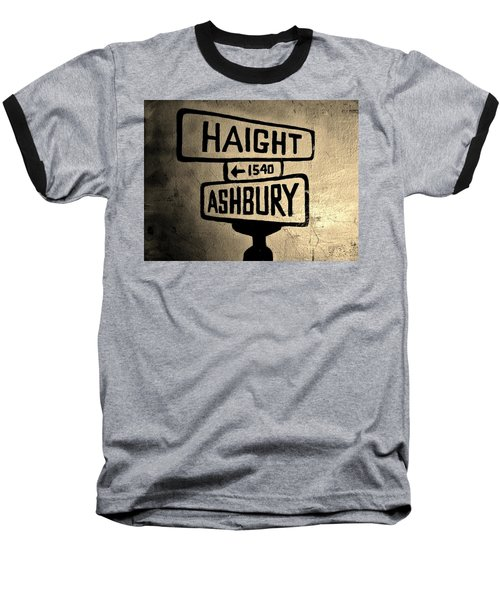 Haight Ashbury Baseball T-Shirt