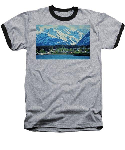 Haines - Alaska Baseball T-Shirt by Juergen Weiss
