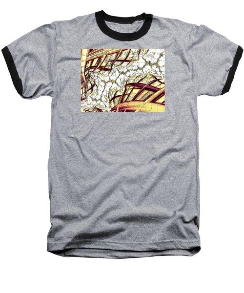 Hairline Fracture Baseball T-Shirt