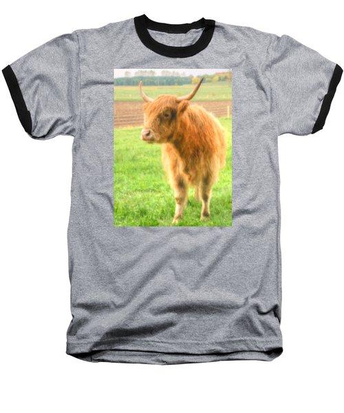 Hairy Coos Baseball T-Shirt