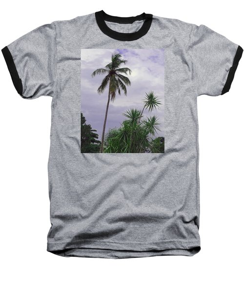 Baseball T-Shirt featuring the photograph Haiti Where Are All The Trees by B Wayne Mullins