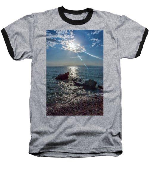 Haitian Beach In The Late Afternoon Baseball T-Shirt
