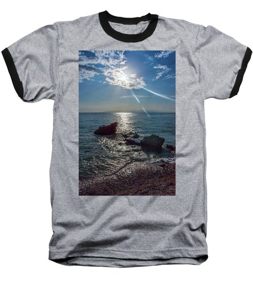 Haitian Beach In The Late Afternoon Baseball T-Shirt