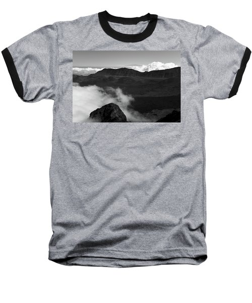 Haleakala B/w Baseball T-Shirt