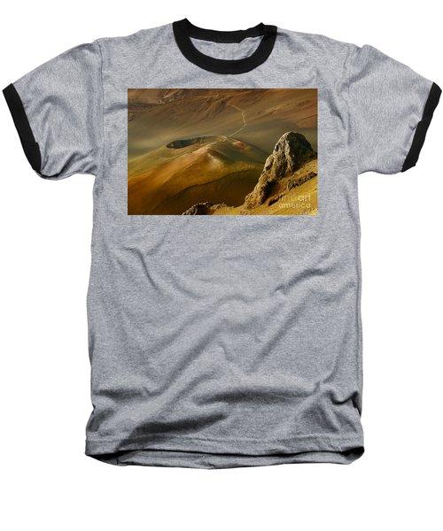 Haleakala Caldera Baseball T-Shirt