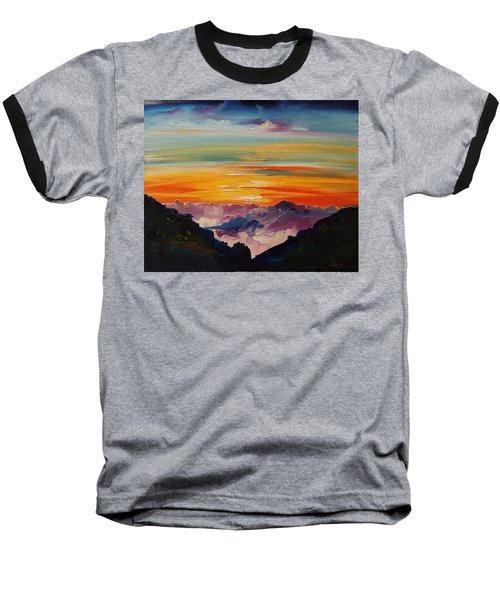 Haleakala Volcano Sunrise In Maui      101 Baseball T-Shirt